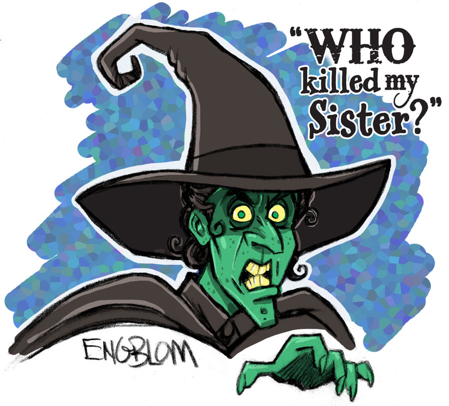 Wizard Of Oz clipart the west Deranged Wizard of Wicked Witch