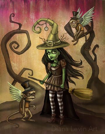 Wizard Of Oz clipart the west Oz $15 on 00 Wicked