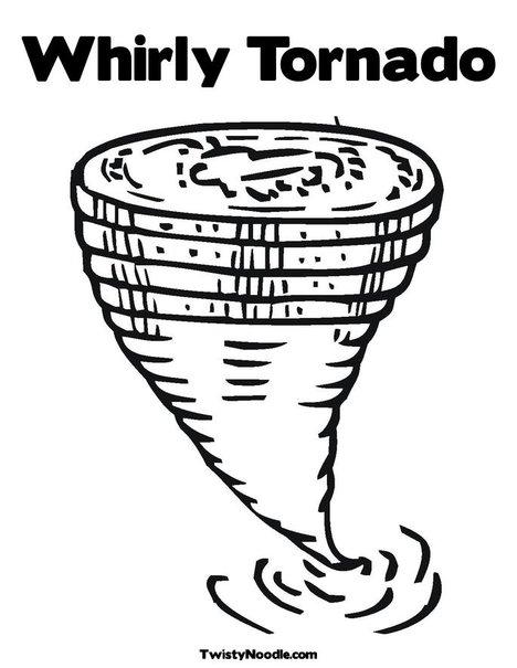 Wizard Of Oz clipart tornado Tornado tornado Pages activity page