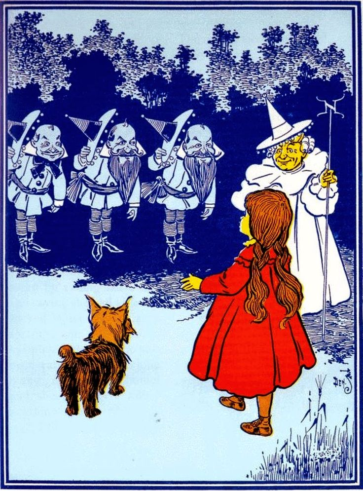 Wizard Of Oz clipart vintage art #10