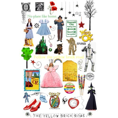 Wizard Of Oz clipart vintage art #8