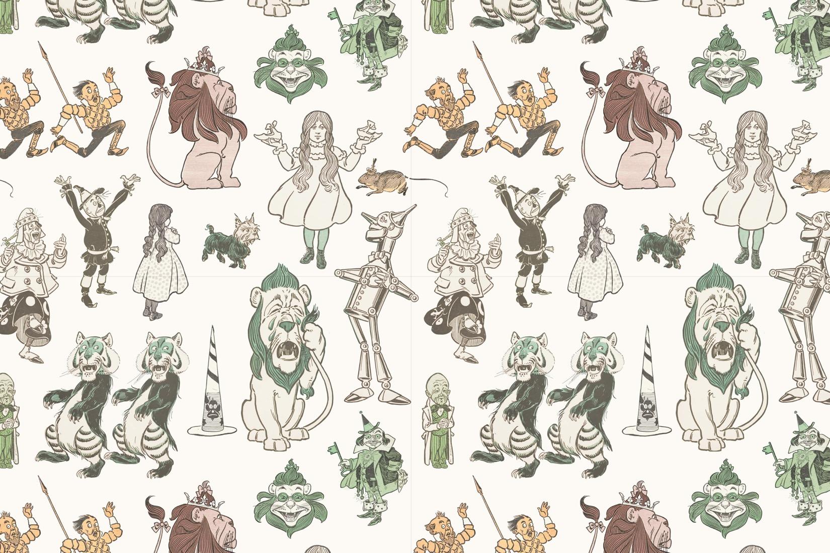 Wizard Of Oz clipart wallpaper Wallpaper Murals Oz Wallpaper of