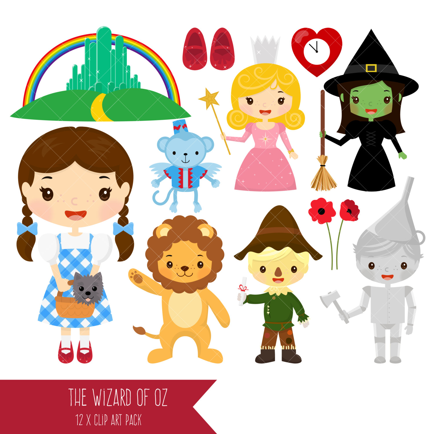 Wizard Of Oz clipart wicked witch / of Man Oz a
