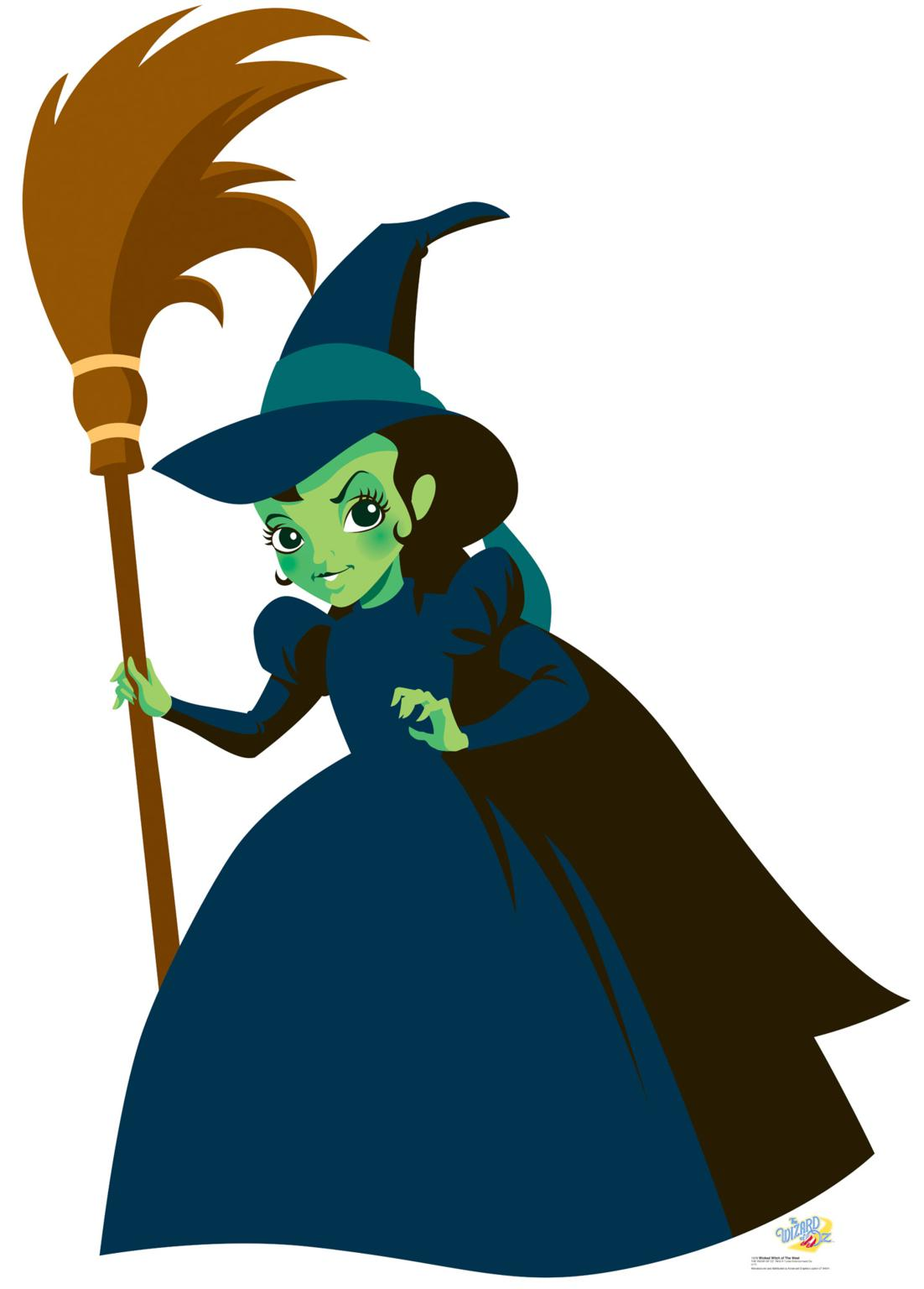Witch Hat clipart wicked witch Witch Oz Clipart 1102x1536