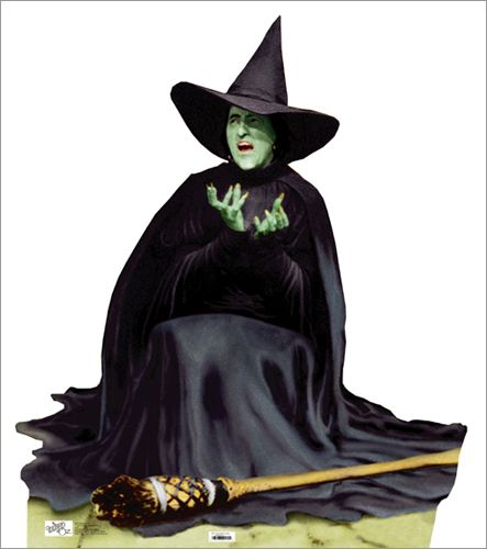 Witch clipart wizard oz witch Melting on best cardboard images