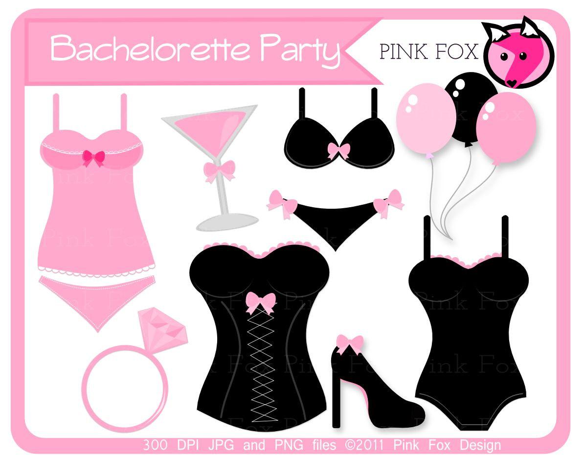 Wodka clipart bachelorette Lingerie clip art Bachelorette images