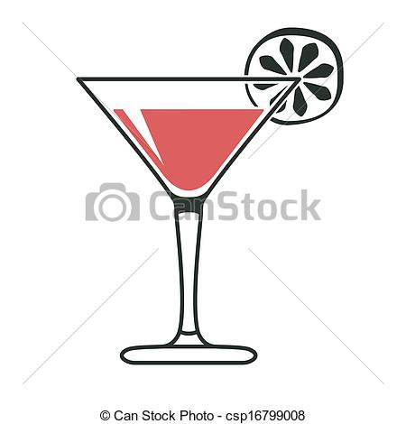 Vodka clipart martini glass Cocktail  lime with Stampa