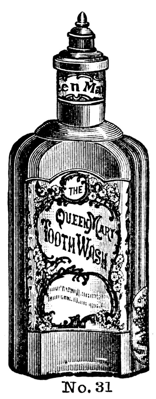 Wodka clipart retro Art Fancy  clip Bottles