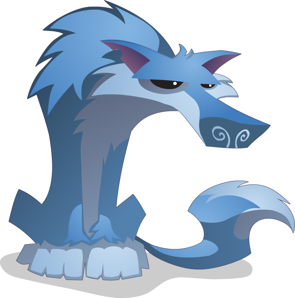 Wolf clipart animal jam Wolf Wikia powered png Sitting