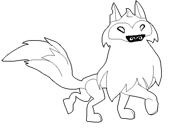 Wolf clipart animal jam At pages coloring pages animal