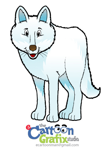 Arctic Wolf clipart animated Wolf photo#5 Arctic cartoon Wolf