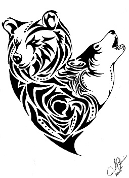 Wolf clipart bear Bear kysteel by DeviantArt kysteel