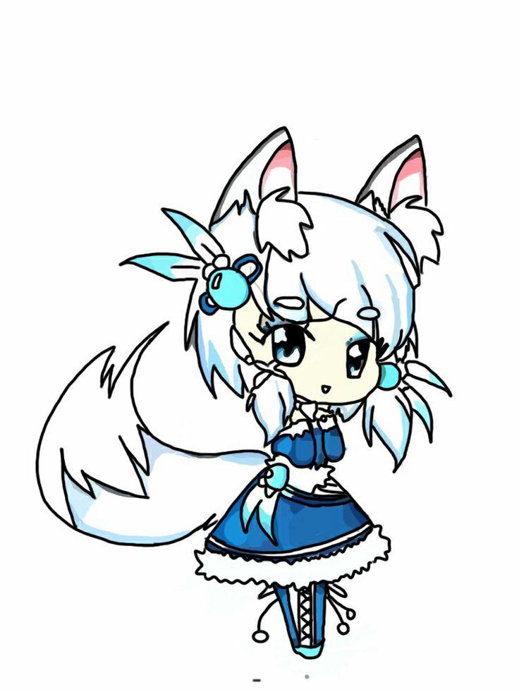 Wolf clipart chibi Chibi Pinterest Pinterest wolf anime