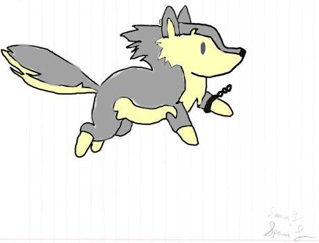 Wolf clipart chibi Colored Chibi wolflinkchibi wolflinkchibi sfilipino