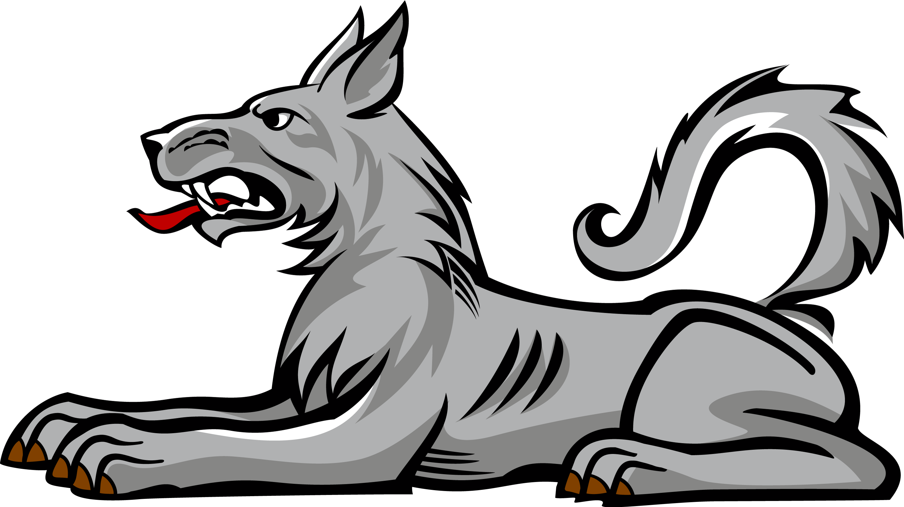 Wolf clipart heraldic Arms symbols with heraldry of