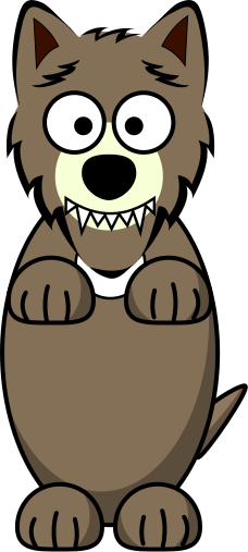 Wolf clipart nice cartoon Png wolf html  /cartoon/animals/wolf/wolf_cartoon