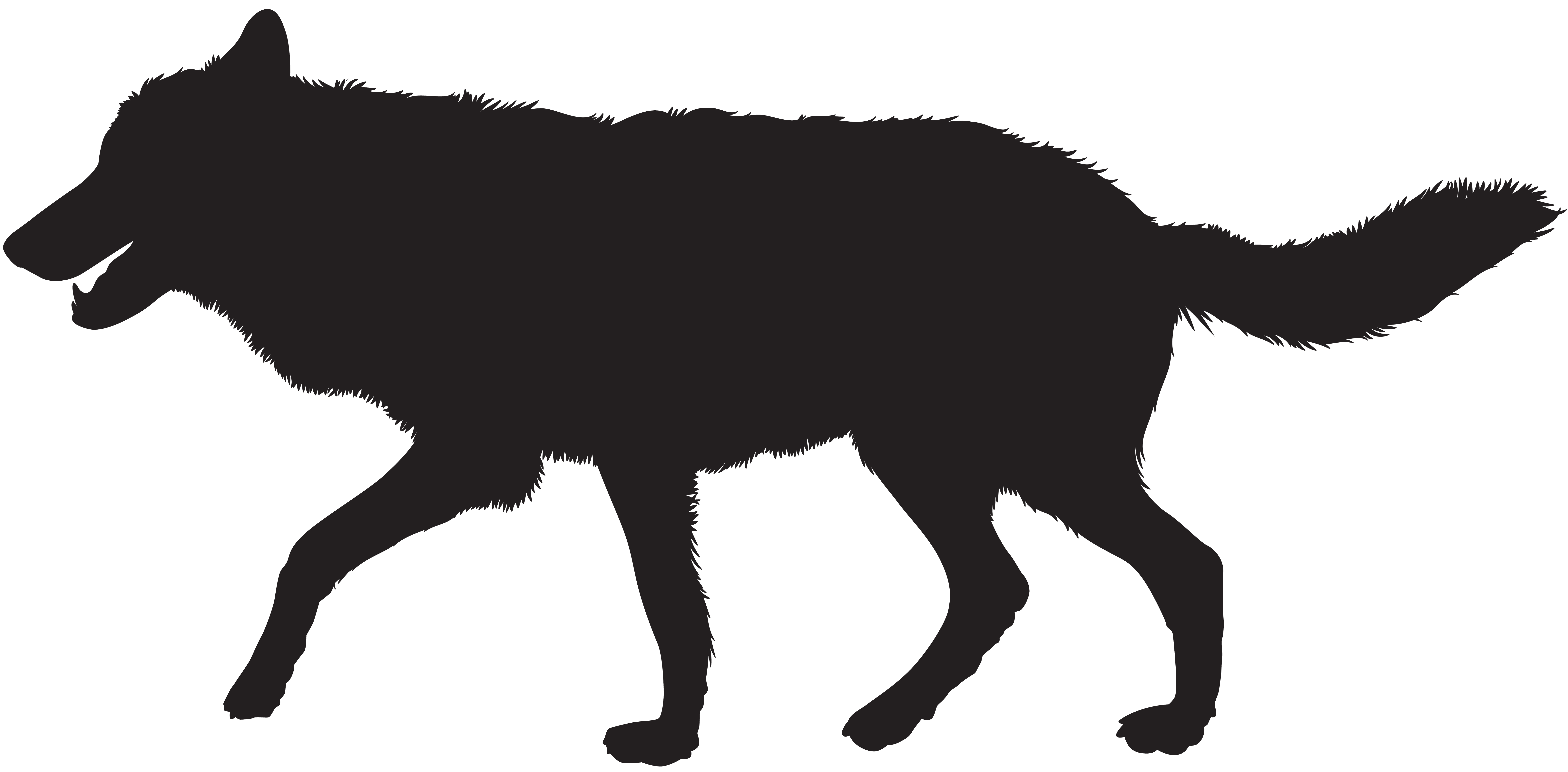Wolf clipart silhouette Yopriceville PNG View High Wolf