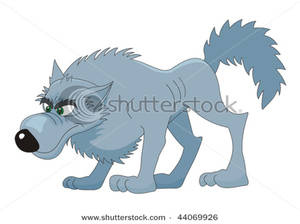 Wolf clipart teal Wolf Gray Clipart Gray A