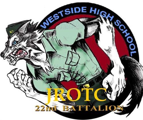 Wolf clipart westside JROTC  JROTC /