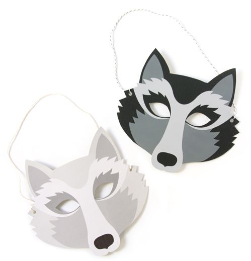 Wolf clipart wolf mask MasksPaper loup MaskWolf ! images