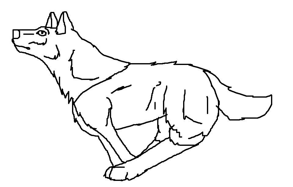 Wolf clipart wolf pup  wolf clipart Lots of