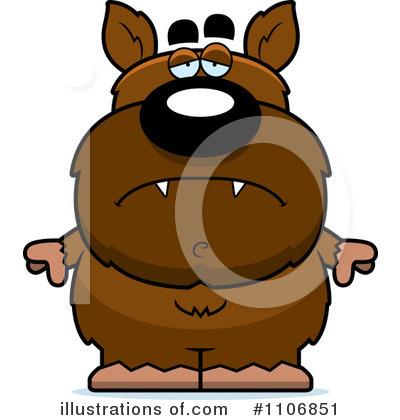 Wolfman clipart Illustration Thoman #1106851 Cory Clipart
