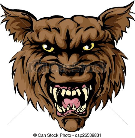 Wolf clipart werewolf Werewolf Vector Werewolf man A