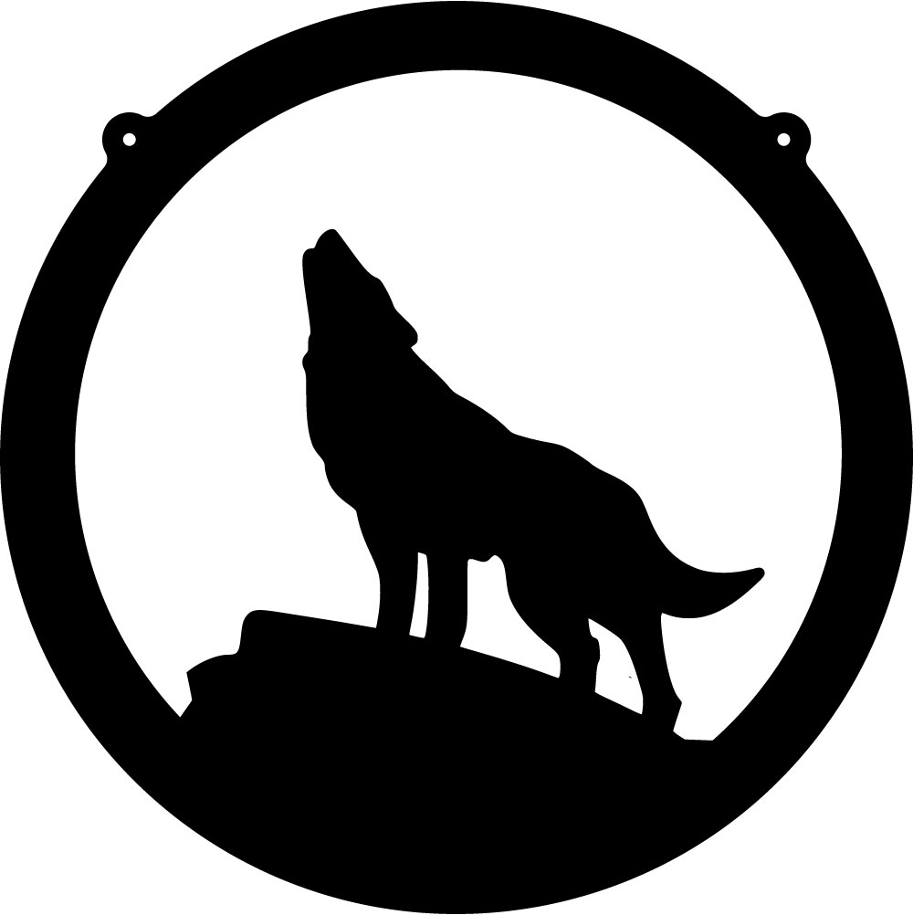 Wolf clipart wolf howling Art Images Black And Coyote