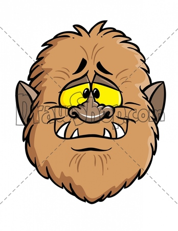 Werewolf clipart smiling Stock DrawShop Illustrations for Royalty