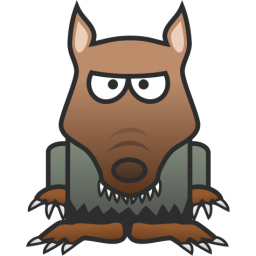 Wolf clipart werewolf Art Free to Clipart Domain