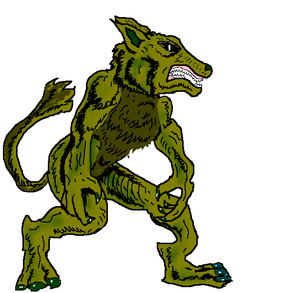 Apocalyptic clipart werewolf Free Panda Clipart Clipart Clipart
