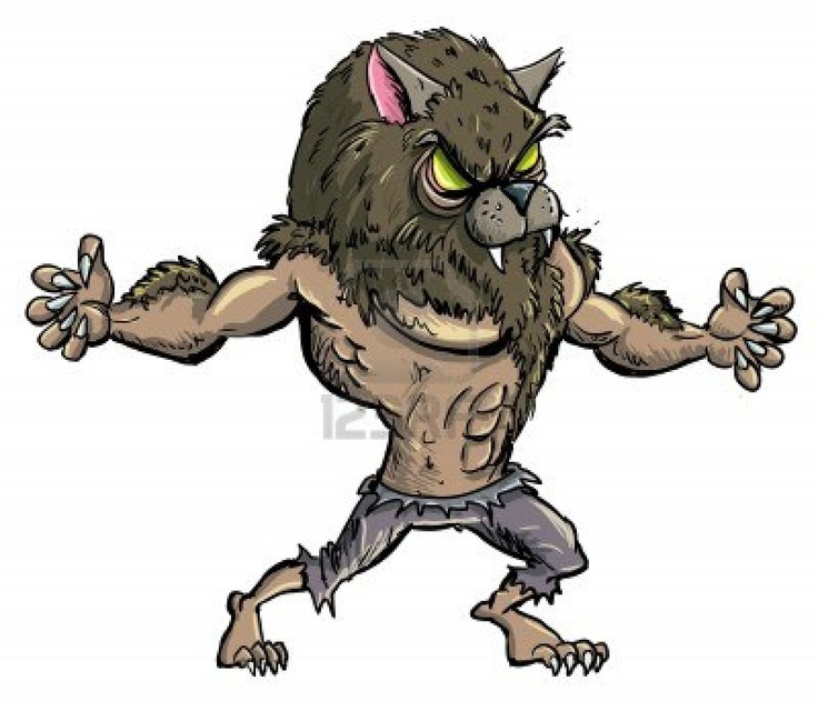 Wolfman clipart Claws 43 about Pinterest images