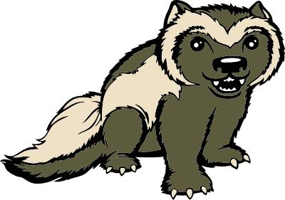 Wolverine clipart animal Wolverine Wolverine Clipart Animal Download