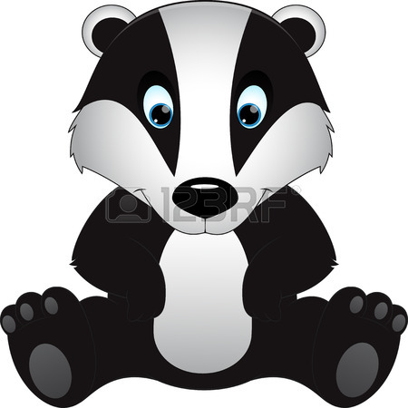 Wolverine clipart badger Wolverine #10 92 badger Tiny
