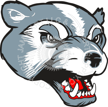 Wolverine clipart badger Image head image head badger
