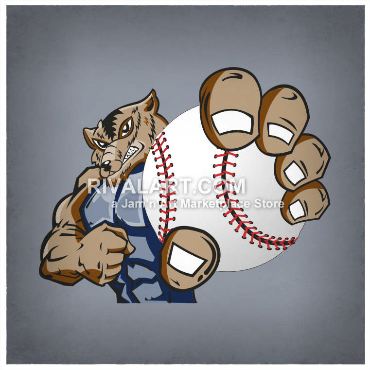 Wolverine clipart baseball Holding A Holding Wolverine Graphic
