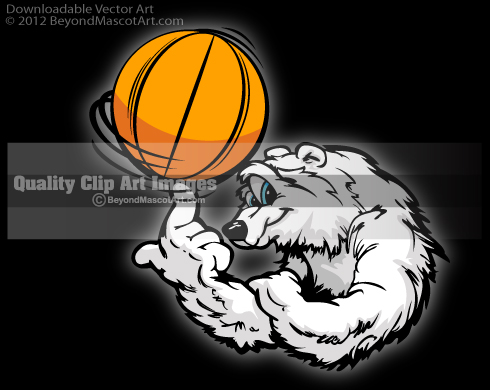 Wolverine clipart basketball Mascot Art Clip Team Bear