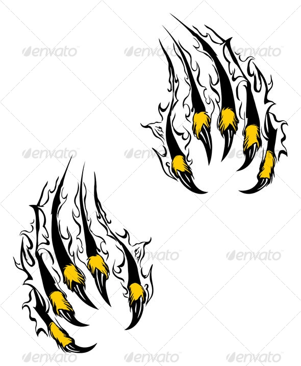 Wolverine clipart tiger claw Clipart Clipart Claws Claws Wolverine