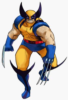 Wolverine clipart marvel VS Marvel character mvc1