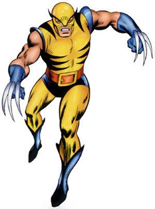 Wolverine clipart marvel (Marvel X profile Comics early