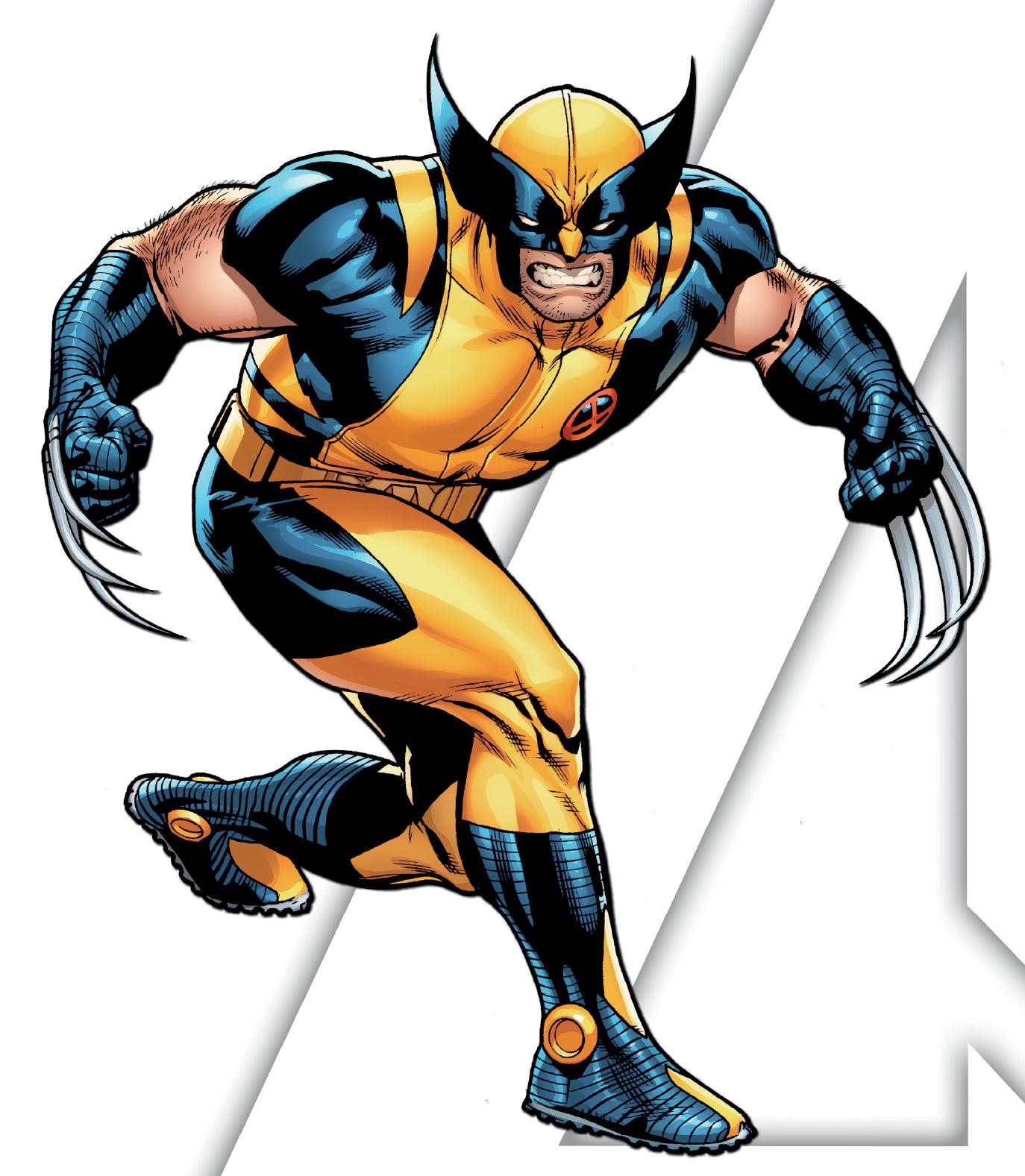 Wolverine clipart marvel Free Art Marvel Clipart Marvel