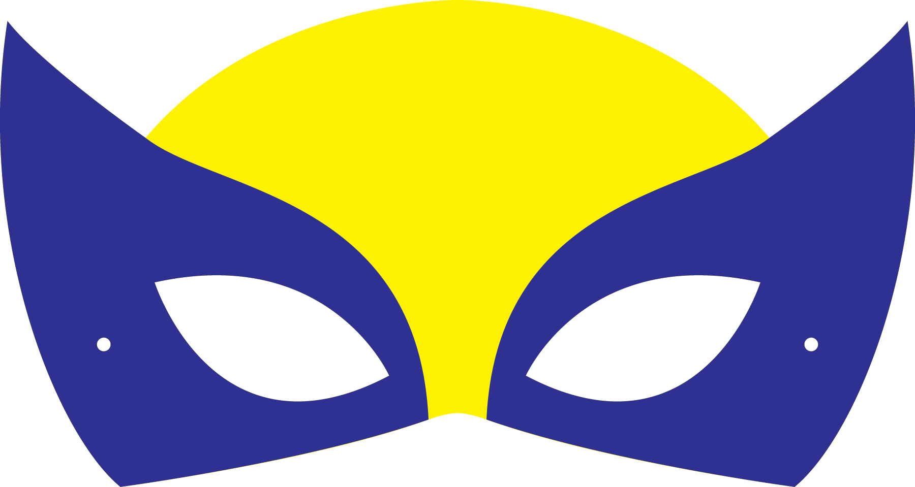 Wolverine clipart mask Them To settings glance print
