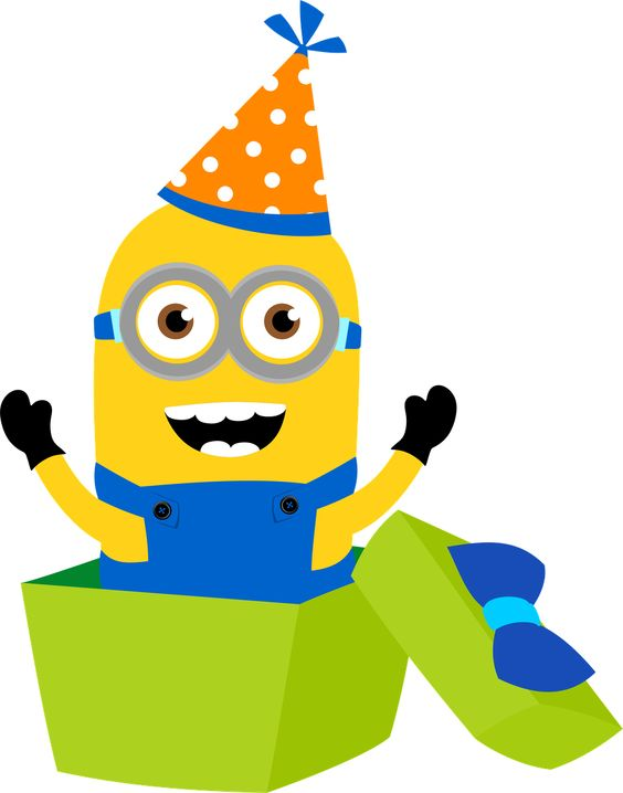Despicable Me clipart birthday minion Minion despicable and me on
