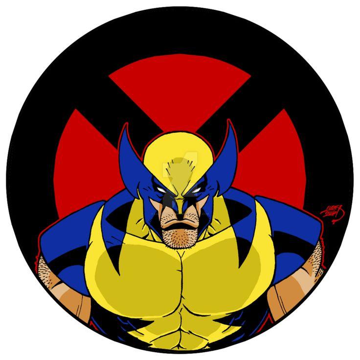 Wolverine clipart old school By best Pinterest Wolverine 142