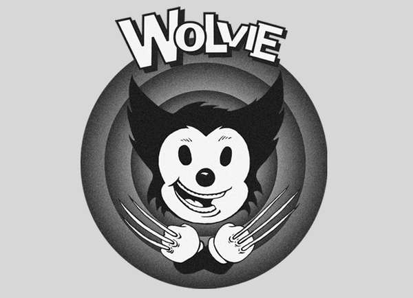 Wolverine clipart old school Old Threadless Friend Tees :
