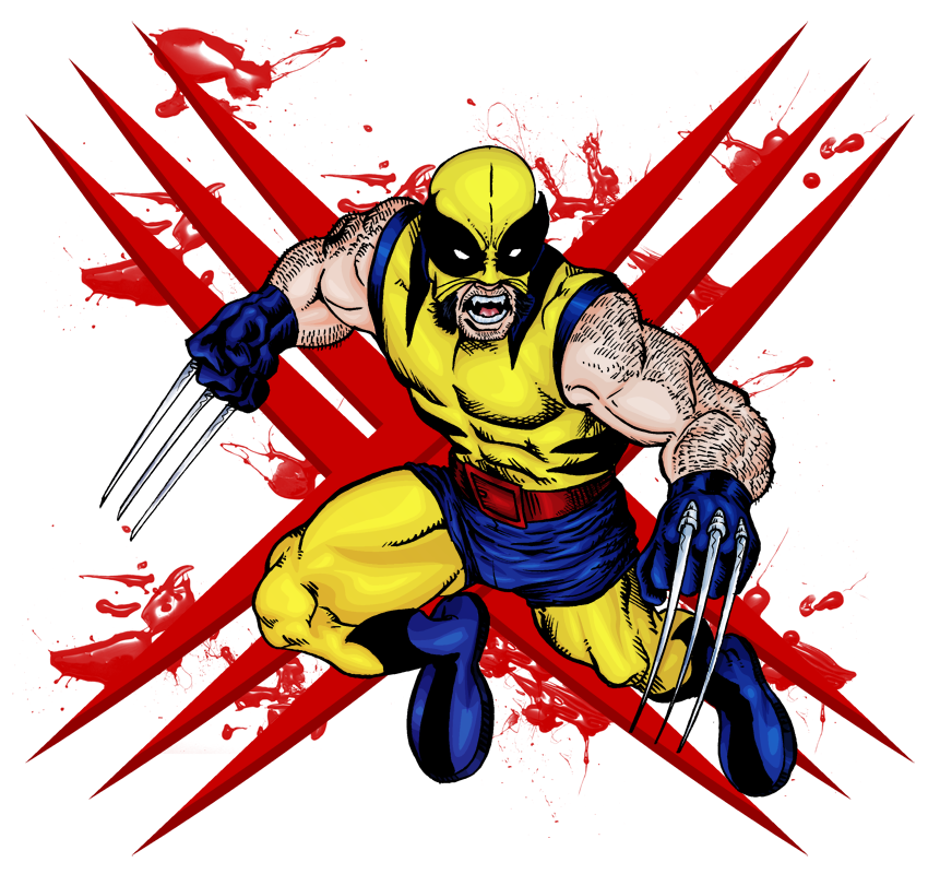 Wolverine clipart old school Ahead the small I his