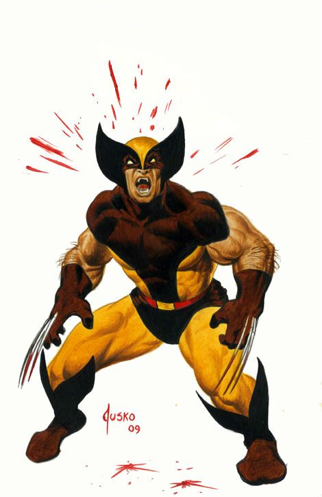 Wolverine clipart old school Jusko on Pinterest images Wolverine