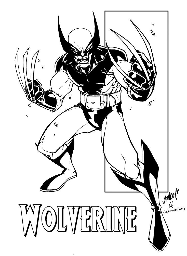 Wolverine clipart old school By Ink DeviantArt by School