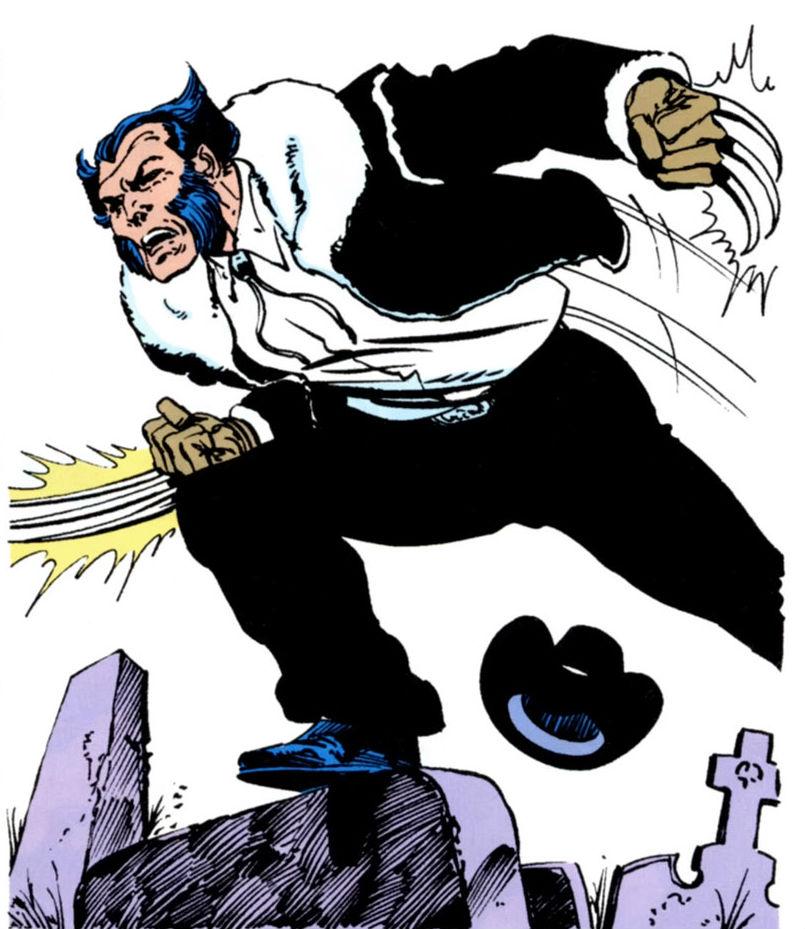 Wolverine clipart old school  Wolverine Xavier's Special Old
