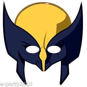 Wolverine clipart party mask X Wolverine on Supplies MEN